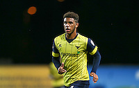 Tyler Roberts of Oxford United during the The Checkatrade Trophy match between Oxford United and Exeter City at the Kassam Stadium, Oxford, England on 30 August 2016. Photo by Andy Rowland / PRiME Media Images.