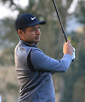 Julian Suri (USA) on the 11th tee during Round 1 of the UBS Hong Kong Open, at Hong Kong golf club, Fanling, Hong Kong. 23/11/2017<br /> Picture: Golffile | Thos Caffrey<br /> <br /> <br /> All photo usage must carry mandatory copyright credit     (&copy; Golffile | Thos Caffrey)