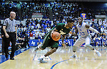 January 20, 2016 - Colorado Springs, Colorado, U.S. -  Colorado State guard, Antwan Scott #1, drives for the basket during an NCAA basketball game between the Colorado State University Rams and the Air Force Academy Falcons at Clune Arena, United States Air Force Academy, Colorado Springs, Colorado.  Colorado State defeats Air Force 83-79.