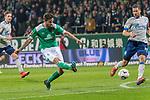 08.03.2019, Weser Stadion, Bremen, GER, 1.FBL, Werder Bremen vs FC Schalke 04, <br /> <br /> DFL REGULATIONS PROHIBIT ANY USE OF PHOTOGRAPHS AS IMAGE SEQUENCES AND/OR QUASI-VIDEO.<br /> <br />  im Bild<br /> #4:2   Martin Harnik (Werder Bremen #09)<br /> <br /> <br /> Foto &copy; nordphoto / Kokenge