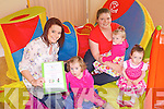 TODDLERS: Enjoying the Mothers & Toddlers Group at the Ballyheigue Family Resource Centre on Thursday were l-r: Laura Dineen, Clodagh Carroll, Elaine O'Carroll, Olivia O'Carroll and Kate O'Carroll.