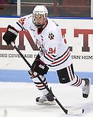 Tyler McNeely (Northeastern - 94) - The Northeastern University Huskies defeated the visiting Providence College Friars 5-0 on Saturday, November 20, 2010, at Matthews Arena in Boston, Massachusetts.