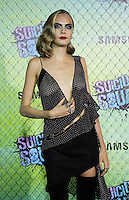 NEW YORK, NY-August 01`: Cara Delevingne at Warner Bros. Pictures & DC, Atlas Entertainment  presents the World Premiere of Suicide Squad  at the Beacon Theatre in New York. NY August 01, 2016. Credit:RW/MediaPunch