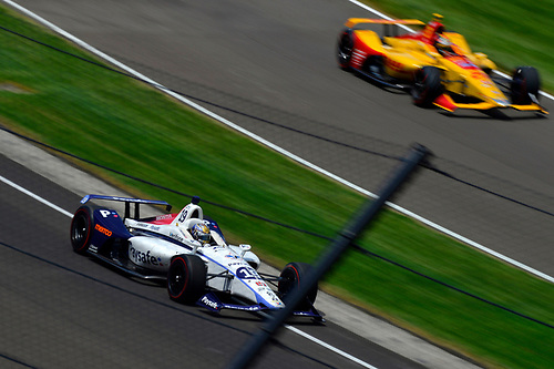 Zachary Claman De Melo, Dale Coyne Racing Honda,Ryan Hunter-Reay, Andretti Autosport Honda