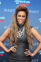 PASADENA, CA - MARCH 12: Tyra Banks at America&rsquo;s Got Talent Red Carpet Kickoff at The Pasadena Civic Auditorium in Pasadena, California on March 12, 2018. <br /> CAP/MPI/FS<br /> &copy;FS/MPI/Capital Pictures