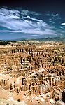 Utah: Bryce Canyon National Park.  Silent City..Photo copyright Lee Foster, www.fostertravel.com..Photo #: utbryc102, 510/549-2202, lee@fostertravel.com