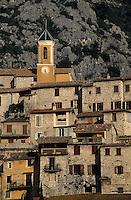 Europe/France/Provence-Alpes-Côtes d'Azur/06/Alpes-Maritimes/Alpes-Maritimes/Arrière Pays Niçois/Peillon : Le village
