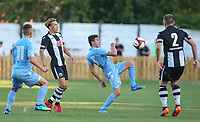 Bolton Wanderers' Will Hartshorne in action <br /> <br /> Photographer Alex Dodd/CameraSport<br /> <br /> Football Pre-Season Friendly - Atherton Collieries v Bolton Wanderers - Tuesday 10th July 2018 - Alder House - Atherton<br /> <br /> World Copyright &copy; 2018 CameraSport. All rights reserved. 43 Linden Ave. Countesthorpe. Leicester. England. LE8 5PG - Tel: +44 (0) 116 277 4147 - admin@camerasport.com - www.camerasport.com