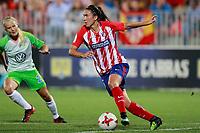Atletico de Madrid's Jucimara Thais Soares Paz during UEFA Womens Champions League 2017/2018, 1/16 Final, 1st match. October 4,2017. (ALTERPHOTOS/Acero) /NortePhoto.com /NortePhoto.com