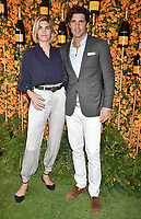 PACIFIC PALISADES, CA - OCTOBER 06: Delfina Blaquier and Nacho Figueras arrive at the 9th Annual Veuve Clicquot Polo Classic Los Angeles at Will Rogers State Historic Park on October 6, 2018 in Pacific Palisades, California.<br /> CAP/ROT/TM<br /> &copy;TM/ROT/Capital Pictures