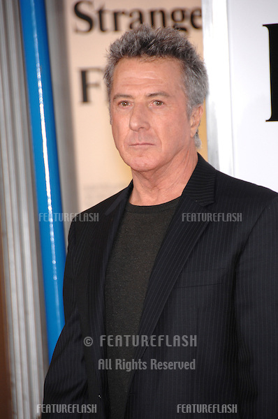 "DUSTIN HOFFMAN at the Los Angeles premiere of his new movie ""Stranger than Fiction""..October 30, 2006  Los Angeles, CA.Picture: Paul Smith / Featureflash"