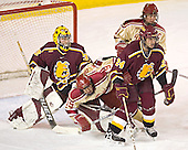 Derek MacIntyre, Ryan Dingle, Jeremy Scherlinck, Gabe Gauthier - The Ferris State Bulldogs defeated the University of Denver Pioneers 3-2 in the Denver Cup consolation game on Saturday, December 31, 2005, at Magness Arena in Denver, Colorado.