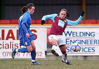 090222 West Ham Utd Ladies v Cardiff City Ladies