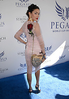 www.acepixs.com<br /> <br /> January 28 2017, Hallandale, FL<br /> <br /> Melody Le arriving at the Pegasus World Cup at Gulfstream Park on January 28, 2017 in Hallandale, Florida.<br /> <br /> By Line: Solar/ACE Pictures<br /> <br /> ACE Pictures Inc<br /> Tel: 6467670430<br /> Email: info@acepixs.com<br /> www.acepixs.com