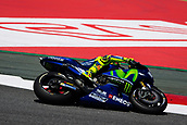 June 10th 2017,  Barcelona Circuit, Montmelo, Catalunya, Spain; MotoGP Grand Prix of Catalunya, qualifying day; Valentino Rossi of  Movistar Yamaha MotoGP during the qualifying session