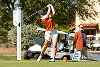 AUSTIN, TX - MAY 7, 2018: The University of Texas at San Antonio Roadrunners compete in Day One of the NCAA Women's Golf Austin Regional at the University of Texas Golf Club. (Photo by Jeff Huehn)