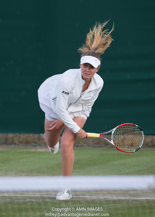 ELINA SVITOLINA (UKR)<br /> <br /> The Championships Wimbledon 2014 - The All England Lawn Tennis Club -  London - UK -  ATP - ITF - WTA-2014  - Grand Slam - Great Britain -  27th June 2014. <br /> <br /> &copy; AMN IMAGES