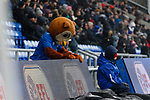The Oldham mascot. Oldham v Portsmouth League 1