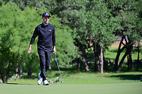 Ben Crane (USA) follows his putt on 10 during round 4 of the Valero Texas Open, AT&amp;T Oaks Course, TPC San Antonio, San Antonio, Texas, USA. 4/23/2017.<br /> Picture: Golffile | Ken Murray<br /> <br /> <br /> All photo usage must carry mandatory copyright credit (&copy; Golffile | Ken Murray)