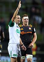 1st August 2020, Hamilton, New Zealand;  Match Referee Ben O'Keefe. Chiefs versus Crusaders, Super Rugby Aotearoa. FMG Stadium Waikato, Hamilton, New Zealand.