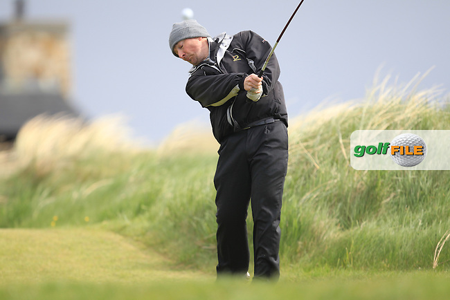 Mark McGowan (www.Clere Golf.ie)<br /> playing in the Etihad Airways PGA Sprint at Seapoint Golf club.<br /> Picture:  Fran Caffrey www.golffile.ie