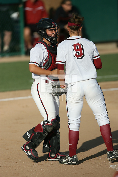 17 May 2007: Rosey Neill during the NCAA Softball Championships at Boyd and Jill Smith Family Stadium in Stanford, CA.