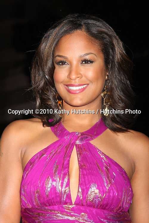 Laila Ali.arriving at the 3rd Annual Art of Elysium Gala.Rooftop of Parking Garage across from Beverly Hilton Hotel.Beverly Hills, CA.January 16, 2010.©2010 Kathy Hutchins / Hutchins Photo....