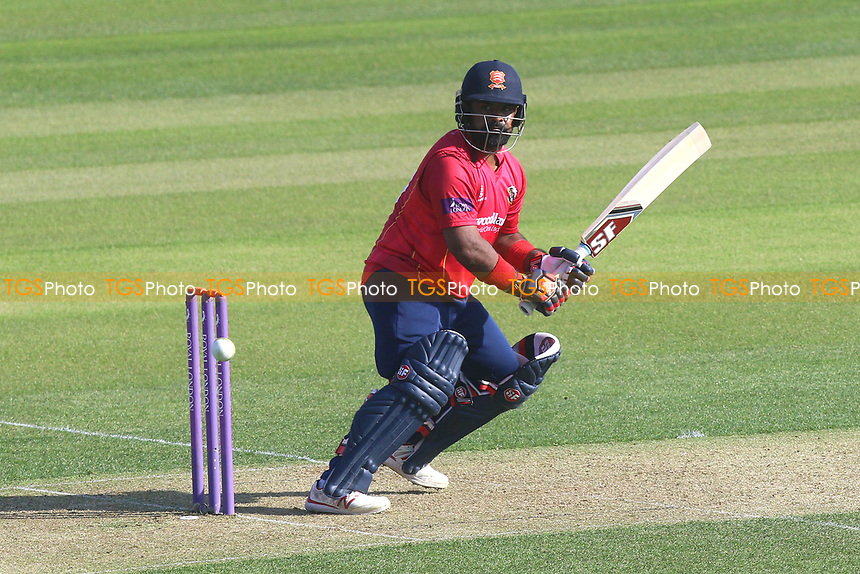 Ashar Zaidi of Essex in batting action during Essex Eagles vs Sussex Sharks, Royal London One-Day Cup Cricket at The Cloudfm County Ground on 10th May 2017