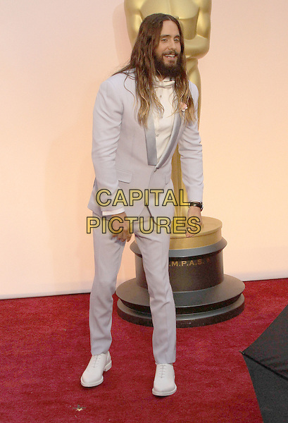 22 February 2015 - Hollywood, California - Jared Leto. 87th Annual Academy Awards presented by the Academy of Motion Picture Arts and Sciences held at the Dolby Theatre. <br /> CAP/ADM<br /> &copy;AdMedia/Capital Pictures Oscars