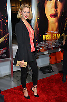 "LOS ANGELES, CA. January 30, 2019: Yael Grogblas at the world premiere of ""Miss Bala"" at the Regal LA Live.<br /> Picture: Paul Smith/Featureflash"