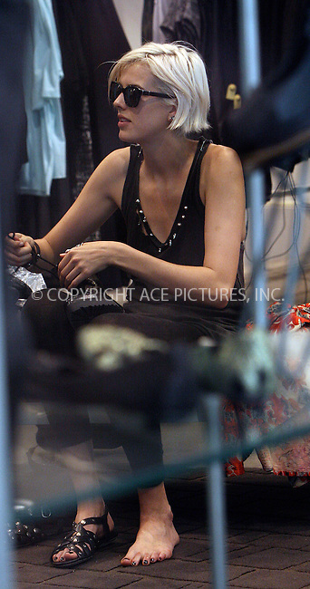 WWW.ACEPIXS.COM . . . . .  ....August 23 2009, New York City....Model Agyness Deyn was seen cycling and shopping in Soho on August 23 2009 in New York city....Please byline: NANCY RIVERA- ACEPIXS.COM.... *** ***..Ace Pictures, Inc:  ..Tel: 646 769 0430..e-mail: info@acepixs.com..web: http://www.acepixs.com