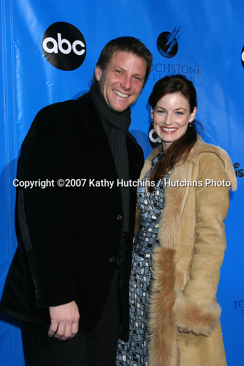 Doug Savant & Laura Leighton.ABC Television Critics Association Press Tour Party.Ritz-Carlton Hotel.Pasadena   CA.January 14, 2007.©2007 Kathy Hutchins / Hutchins Photo.