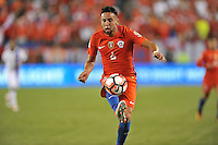 Philadelphia, PA - Tuesday June 14, 2016: Mauricio Isla during a Copa America Centenario Group D match between Chile (CHI) and Panama (PAN) at Lincoln Financial Field.