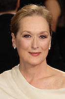 HOLLYWOOD, LOS ANGELES, CA, USA - MARCH 02: Meryl Streep at the 86th Annual Academy Awards held at Dolby Theatre on March 2, 2014 in Hollywood, Los Angeles, California, United States. (Photo by Xavier Collin/Celebrity Monitor)