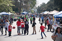 Kids from schools far and wide congregate at Occidental College to compete in the annual Science Olympiad, February 27, 2016. (Photo by Nick Harrington, Occidental College Class of 2017)