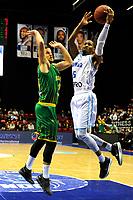 GRONINGEN - Basketbal , Donar - Petrolina AEK, Europe Cup, seizoen 2018-2019, 30-01-2019,  Donar speler Teddy Gipson op weg naar score