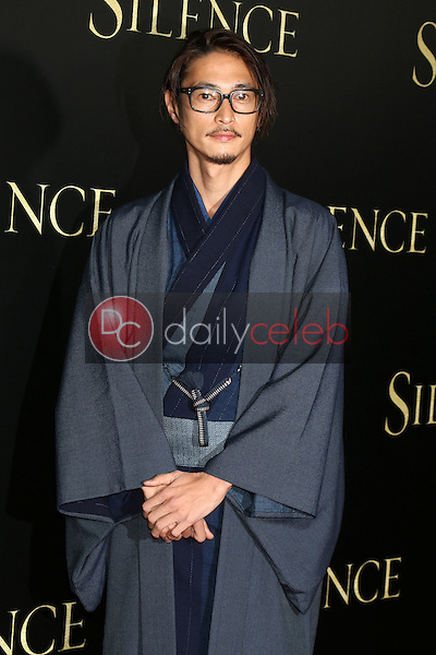 Yosuke Kubozuka<br /> at the &quot;Silence&quot; Premiere, Directors Guild of America, Los Angeles, CA 01-05-17<br /> David Edwards/DailyCeleb.com 818-249-4998