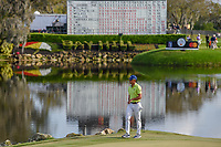 Rafael Cabrera Bello (ESP) approaches the green on 18 during round 4 of the Arnold Palmer Invitational at Bay Hill Golf Club, Bay Hill, Florida. 3/10/2019.<br /> Picture: Golffile | Ken Murray<br /> <br /> <br /> All photo usage must carry mandatory copyright credit (© Golffile | Ken Murray)