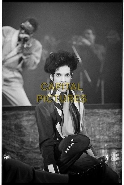 SAN FRANCISCO, CALIFORNIA - APRIL 11: Prince photographed photographed at the Bill Graham Civic Center in San Francisco, CA April 11, 1993 <br /> CAP/MPI/JB<br /> &copy;JB/MPI/Capital Pictures