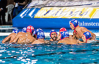 Olympiacos<br /> Jug Dubrovnik (white cap) vs Olympiacos (blue cap)<br /> Budapest, Alfred Hajos National Swimming Complex<br /> LEN 2016 Water Polo Champions League Final Six<br /> Budapest HUN June 2 - 5, 2016<br /> Day 03 June 4, 2016<br /> Photo Giorgio Scala/Deepbluemedia/Insidefoto