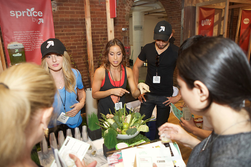 New York, NY - June 11, 2016: Scenes from the Food Loves Tech festival, hosted by Edible Manhattan and Vayner Media.<br /> CREDIT: Clay Williams for Edible Manhattan.<br /> <br /> &copy; Clay Williams / claywilliamsphoto.com