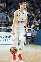 Real Madrid Luka Doncic during Turkish Airlines Euroleague match between Real Madrid and CSKA Moscu at Wizink Center in Madrid, Spain. October 19, 2017. (ALTERPHOTOS/Borja B.Hojas) /NortePhoto.com