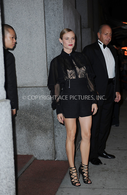 WWW.ACEPIXS.COM<br /> October 22, 2015 New York City<br /> <br /> Jason Wu and Diane Kruger arriving to attend the 2015 Fashion Group International's Night Of Stars at Cipriani Wall Street on October 22, 2015 in New York City.<br /> <br /> Credit: Kristin Callahan/ACE<br /> Tel: (646) 769 0430<br /> e-mail: info@acepixs.com<br /> web: http://www.acepixs.com