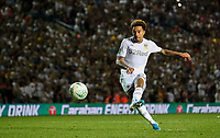 Leeds United's Helder Costa slots a penalty<br /> <br /> Photographer Alex Dodd/CameraSport<br /> <br /> The Carabao Cup Second Round- Leeds United v Stoke City - Tuesday 27th August 2019  - Elland Road - Leeds<br />  <br /> World Copyright © 2019 CameraSport. All rights reserved. 43 Linden Ave. Countesthorpe. Leicester. England. LE8 5PG - Tel: +44 (0) 116 277 4147 - admin@camerasport.com - www.camerasport.com