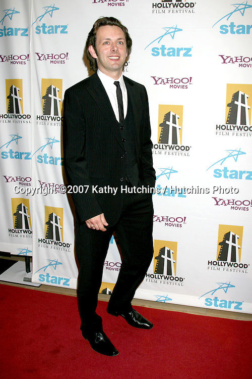Michael Sheen.Hollywood Film Festival 11th Annual Hollywood Awards Gala.Beverly Hilton Hotel.Beverly Hills,  CA.October 22, 2007.©2007 Kathy Hutchins / Hutchins Photo...               .