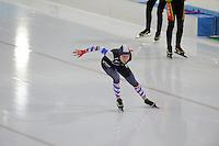 SCHAATSEN: HEERENVEEN: 05-02-2017, KPN NK Junioren, Junioren B Dames 1000m, Michelle de Jong, ©foto Martin de Jong SCHAATSEN: HEERENVEEN: 05-02-2017, KPN NK Junioren, ©foto Martin de Jong