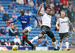 28.07.2019 Rangers v Derby County: Glen Kamara and Tom Huddlestone