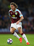 Jeff Hendrick of Burnley during the Premier League match at Turf Moor Stadium, Burnley. Picture date: September 26th, 2016. Pic Simon Bellis/Sportimage