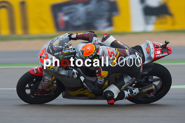 Gran Premio Movistar de Aragón<br /> during the moto world championship in Motorland Circuit, Aragón<br /> Race Moto2<br /> tito rabat<br /> PHOTOCALL3000
