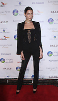 NEW YORK, NY-October 13:Bella Hadid at the Global Lyme Alliance's 2016 United For A Lyme-Free World Gala at Cipriani 42nd Street in New York.October 13, 2016. Credit:RW/IMerdiaPunch